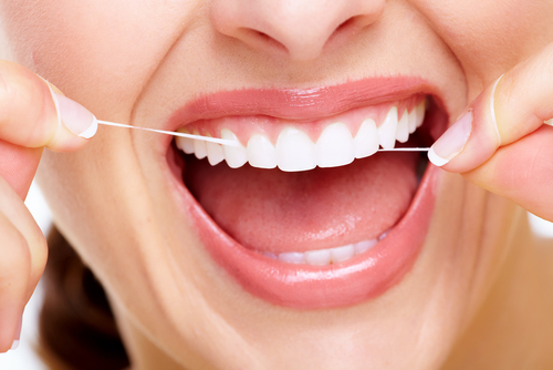 Brush, Floss, Rinse,: 3 daily steps for healthier teeth - image