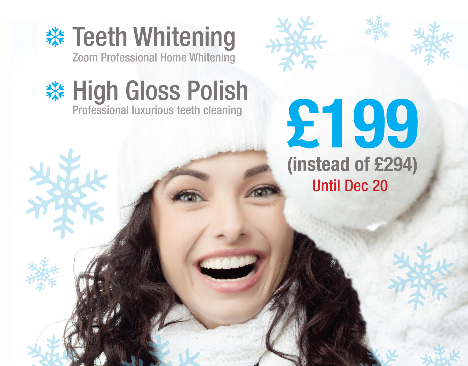 Teeth whitening in putney christmas offer