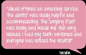 Alkali Teeth Whitening in Putney Valentine's Offer