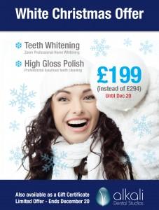 White Christmas Offer in Putney