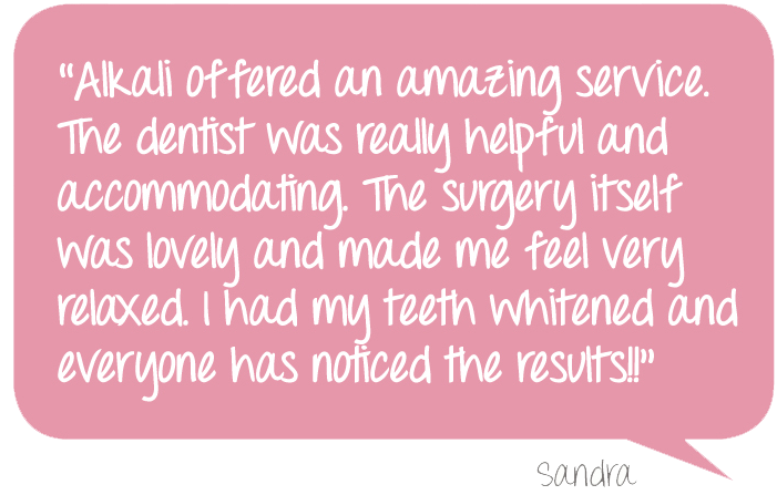 Alkali Teeth Whitening in Putney Valentine's Offer